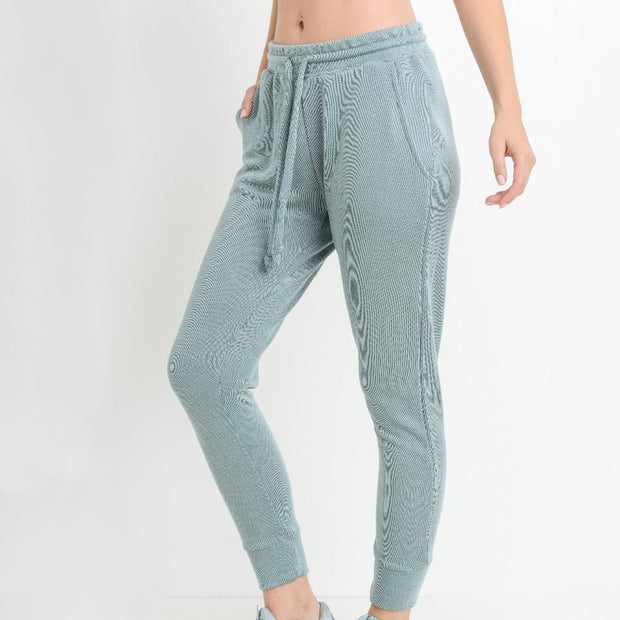 Sage Drawstring Jogger - Nixon & Co Boutique