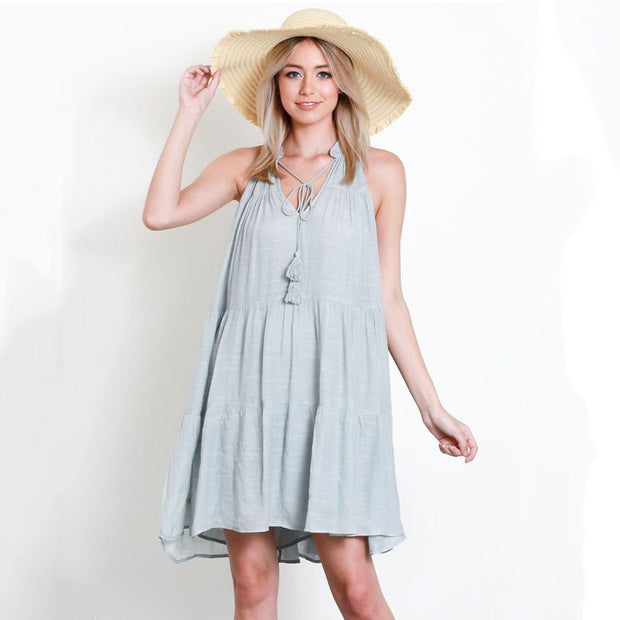 Short Bohemian Dress - Nixon & Co Boutique