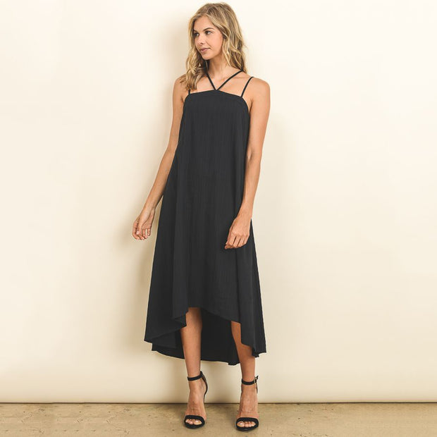 Strappy Trapeze Dress - Nixon & Co Boutique