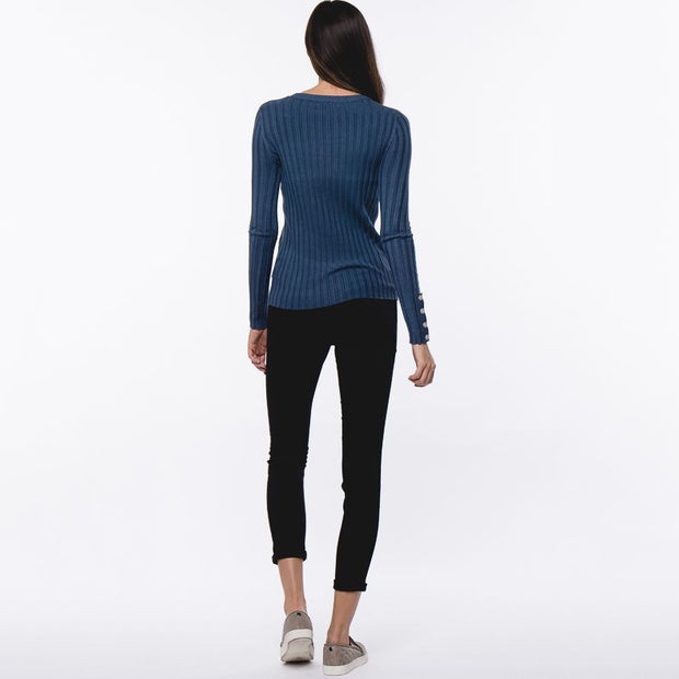 Teal Sweater - Nixon & Co Boutique