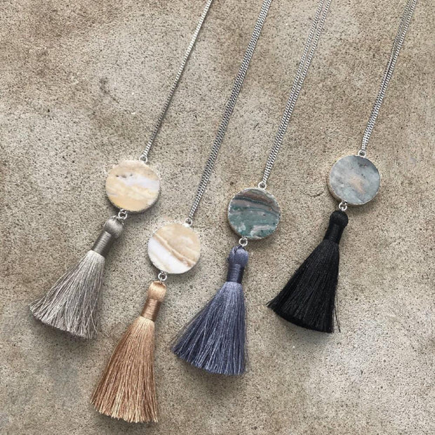 Tulum Tassel Necklace - Nixon & Co Boutique