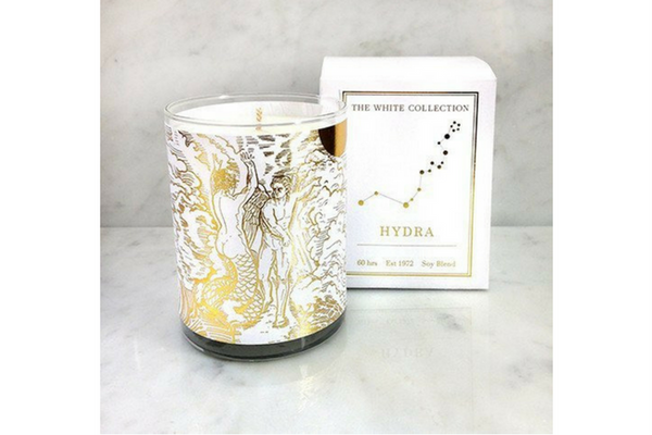 Spitfire Girl White Collection Candle Hydra