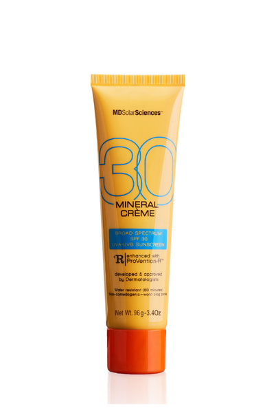 3.4 oz Mineral Crème SPF 30 Broad Spectrum UVA-UVB Sunscreen