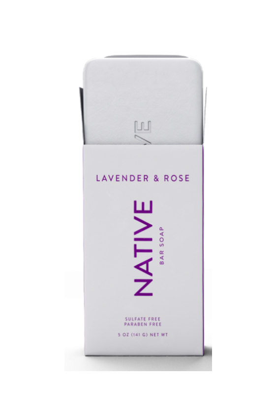 Lavender & Rose Native Soap