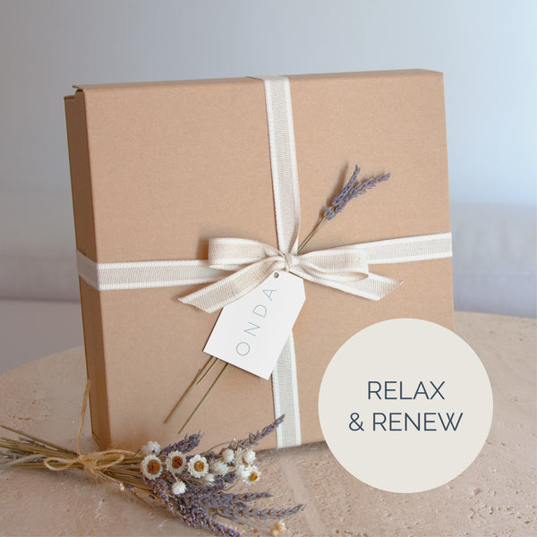 Relax and Renew Gift Box