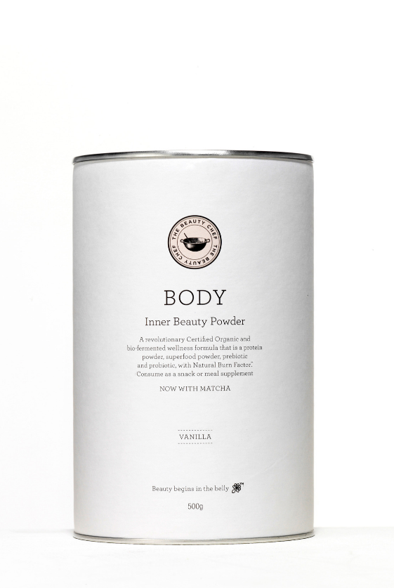 Body Inner Beauty Powder Vanilla (with Matcha)
