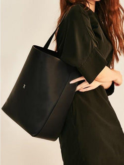 JOSEPH & STACEY -  Shopper L Rich Black