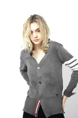 KNVAZ - Women - *NEW*   KAT - PREPPY  CARDIGAN (GREY)