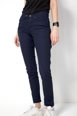 *NEW*   OSLOH - WOMEN'S CYCLIST NAVY TWILL PORTEUR JEAN