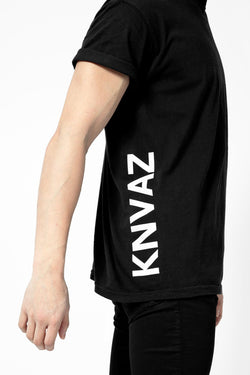 KNVAZ - Men - *NEW*   KNVAZ T-SHIRT (BLACK)