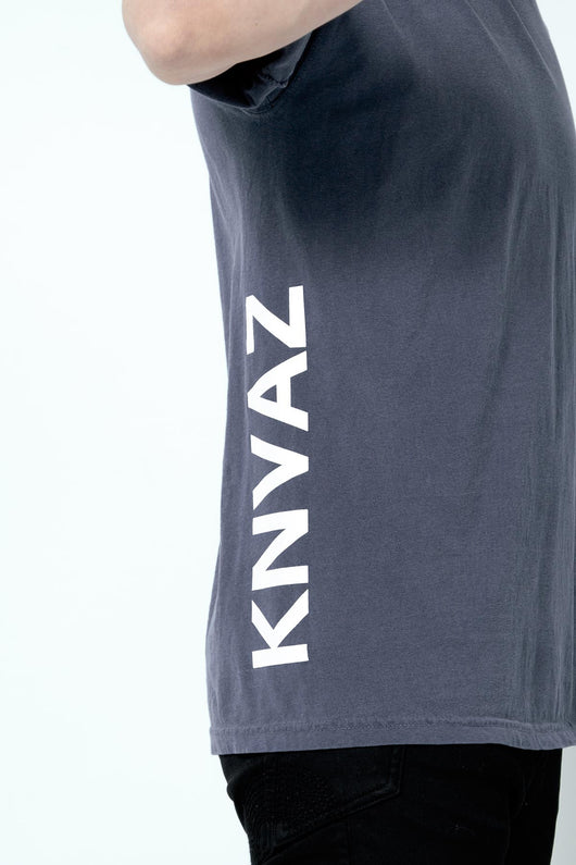KNVAZ - Men - *NEW*   KNVAZ T-SHIRT (DENIM BLUE)