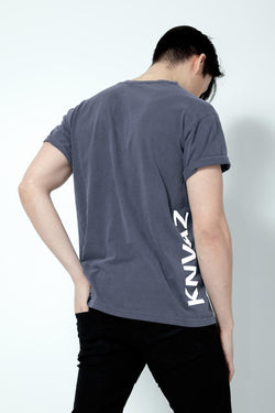 *NEW*   KNVAZ T-SHIRT (DENIM BLUE)