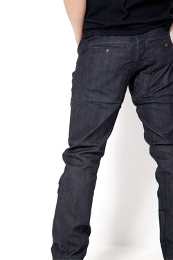 *NEW*   OSLOH - MEN'S CYCLIST DARK INDIGO LANE JEANS