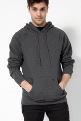 KNVAZ - Men - *NEW*   KNVAZ BACK LOGO HOODIE  (Dk Grey Heather)