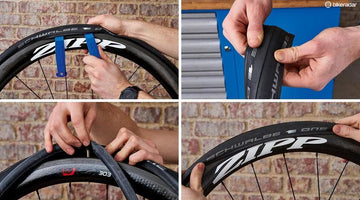 How to change an inner tube on your bicycle tyre