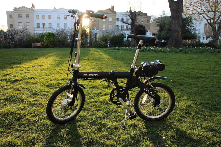Folding Electric Bicycle perfect for city commutes as seen on BBC Dragon's Den