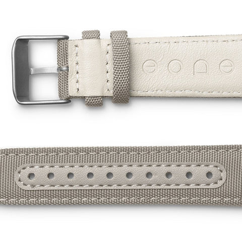 Canvas strap / beige side view