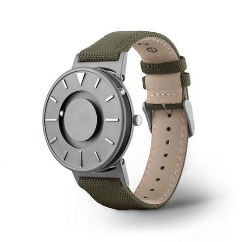 Bradley Canvas Olive side view