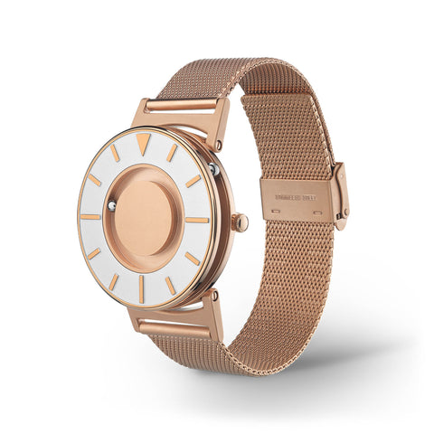 Bradley Mesh Rose Gold side view