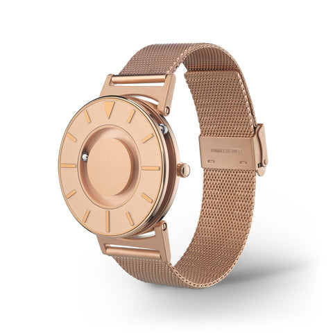 Bradley Mesh Rose Gold II side view