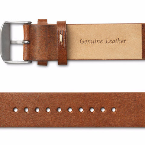 Leather Strap / Chestnut side view