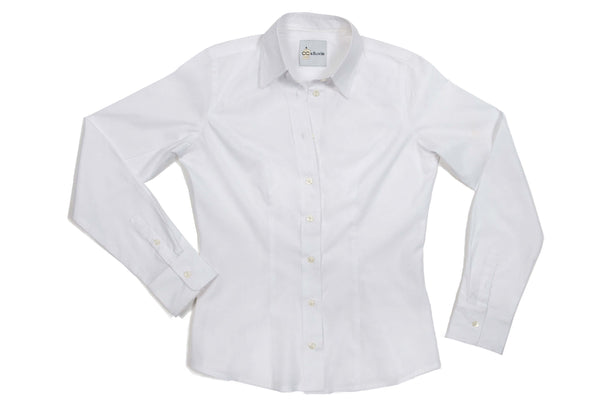 Perfect Fit Blouse<br />White