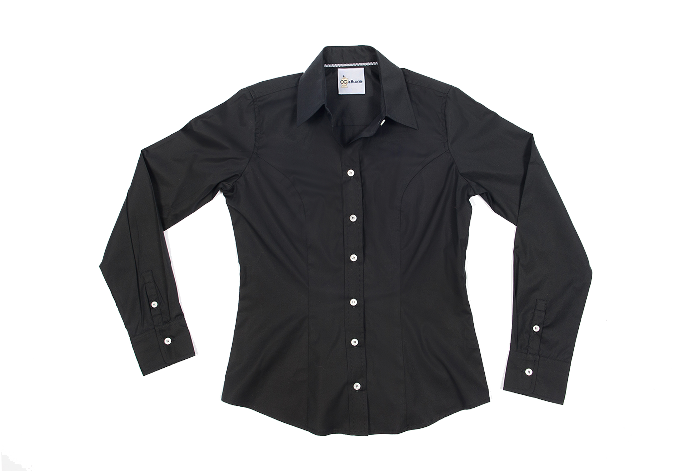 Perfect Fit Blouse<br />Black