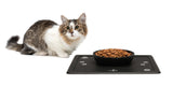 Bravaware BravaBowl Cat Bowl for Cats, Dogs & Household Pets 100% Food Grade Silicone One-Piece Bowl & Mat Sustainable Eco Friendly & 100% Recyclable