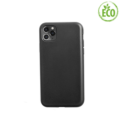 iPhone 11 Pro Max | iPhone 11 Pro Max - EcoCase™ Plantebaseret Bio Cover - Sort - DELUXECOVERS.DK