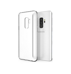 Samsung Galaxy S9+ | Galaxy S9+ - Ultra-Slim Silikone Cover - Gennemsigtig - DELUXECOVERS.DK