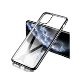 iPhone 11 Pro Max | iPhone 11 Pro Max - Valkyrie Silikone Hybrid Cover - Sort - DELUXECOVERS.DK