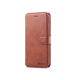 iPhone 6 / 6s | iPhone 6/6s - AZNS Diary Læder Cover Etui M. Pung - Brun - DELUXECOVERS.DK