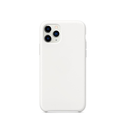 iPhone 11 Pro | iPhone 11 Pro - Deluxe™ Soft Touch Silikone Cover - Hvid - DELUXECOVERS.DK