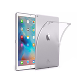 "iPad Air 2 - 9.7"" - DeLX™ Ultra Silikone Cover - Gennemsigtig - DELUXECOVERS.DK"