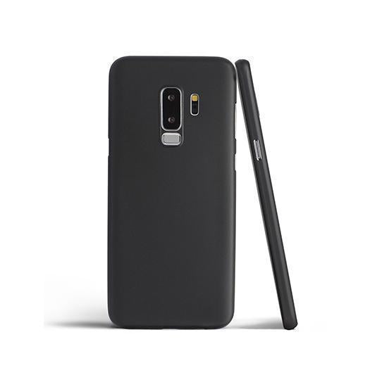 Samsung Galaxy S9+ | Samsung Galaxy S9+ - Ultratynd Matte Series Cover V.2.0 - Sort - DELUXECOVERS.DK