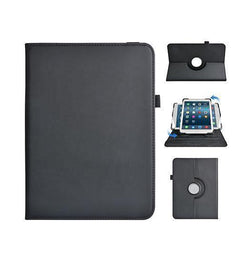 iPad | iPad Mini 4/5 - Realike™ Folio Roterende 360° Cover - Sort - DELUXECOVERS.DK