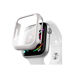 Apple Watch 42mm | Apple Watch (42MM) - NX 360° Cover M. Beskyttelseglas - Hvid - DELUXECOVERS.DK