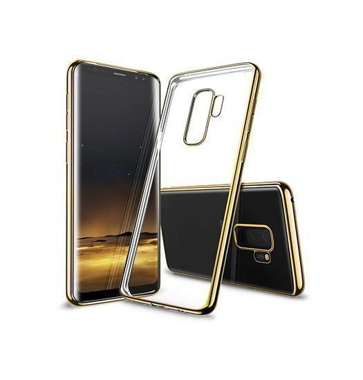 Samsung Galaxy S9+ | Samsung Galaxy S9+ - Valkyrie Silikone Hybrid Cover - Guld - DELUXECOVERS.DK