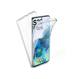 Samsung Galaxy S20+ | Samsung Galaxy S20+ (Plus) - Full Cover 360° Silikone Transparent - DELUXECOVERS.DK