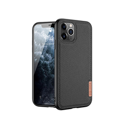 iPhone 11 Pro Max | iPhone 11 Pro Max - DUX DUCIS® Luxe Bagcover - Sort - DELUXECOVERS.DK