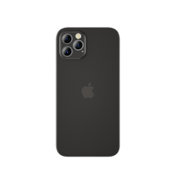 iPhone 12 Pro Max | iPhone 12 Pro Max - Ultratynd Matte Series Cover V.2.0 - Sort - DELUXECOVERS.DK