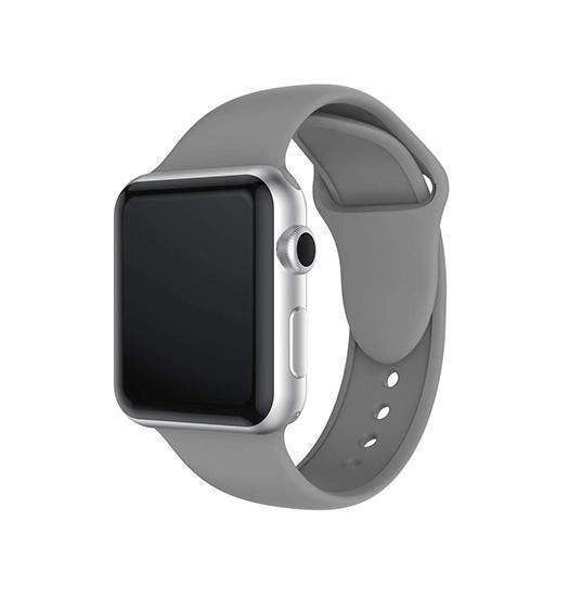 Apple Watch 42mm | Apple Watch (42-44mm) -  PRO+ Silikone Sportsrem - Concrete - DELUXECOVERS.DK