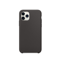 iPhone 11 Pro - Deluxe™ Soft Touch Silikone Cover - Sort - DELUXECOVERS.DK