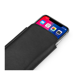 iPhone X | iPhone X/Xs - Infinity Push-Up Lomme Etui V.2.0 - Sort - DELUXECOVERS.DK