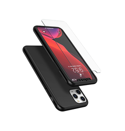 iPhone 11 Pro - Deux™ 360° Fuld Cover M. Beskyttelsesglas - Sort - DELUXECOVERS.DK