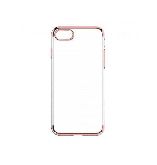 iPhone 6 / 6s | iPhone 6 / 6s Baseus Silikone Cover - Rose Guld - DELUXECOVERS.DK