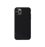 iPhone 11 Pro | iPhone 11 Pro - PRO+ Design Mat Slim Silikone Cover - Sort - DELUXECOVERS.DK