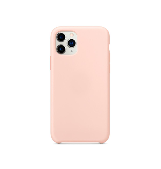 iPhone 11 Pro - Deluxe™ Soft Touch Silikone Cover - Lyserød - DELUXECOVERS.DK