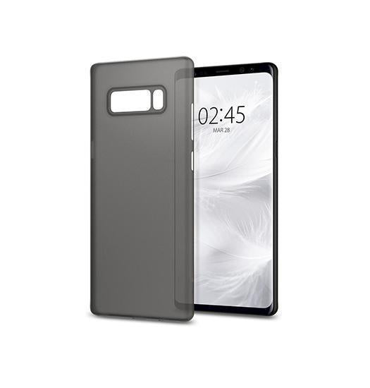 Samsung Note 8 | Galaxy Note 8 - Ultratynd Matte Series Cover V.2.0 - Sort - DELUXECOVERS.DK