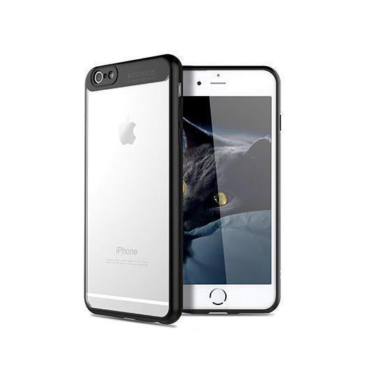 iPhone 6 / 6s | iPhone 6/6s - Baseus Hybrid Crystal Touch Cover - Sort - DELUXECOVERS.DK